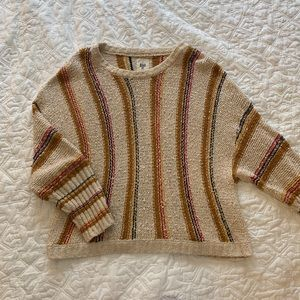 Billabong Knit Striped Sweater size L